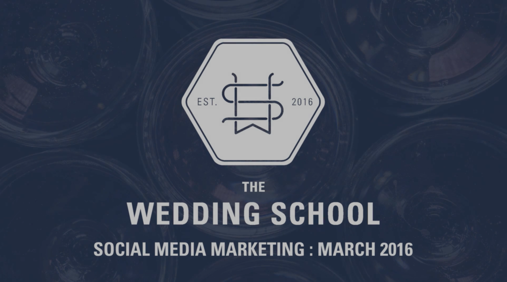 social media marketing for wedding photographers
