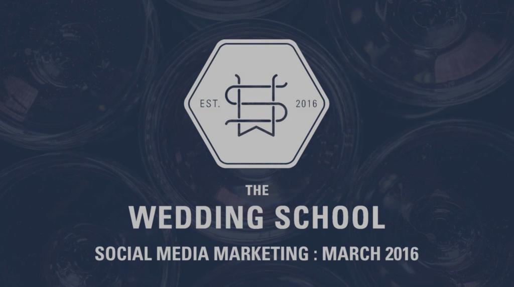 social media marketing for wedding photographers