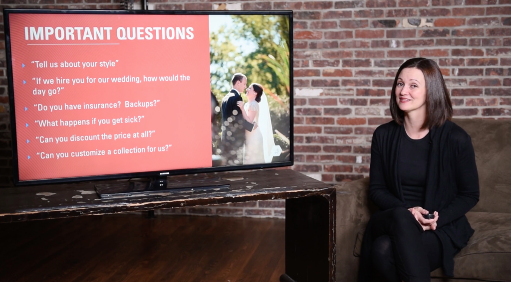 tutorial on Wedding Photography Client Meetings