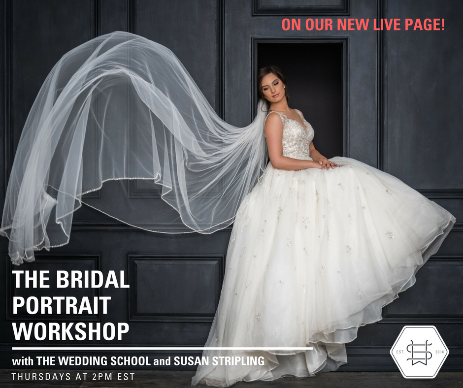 LIVE wedding photography education