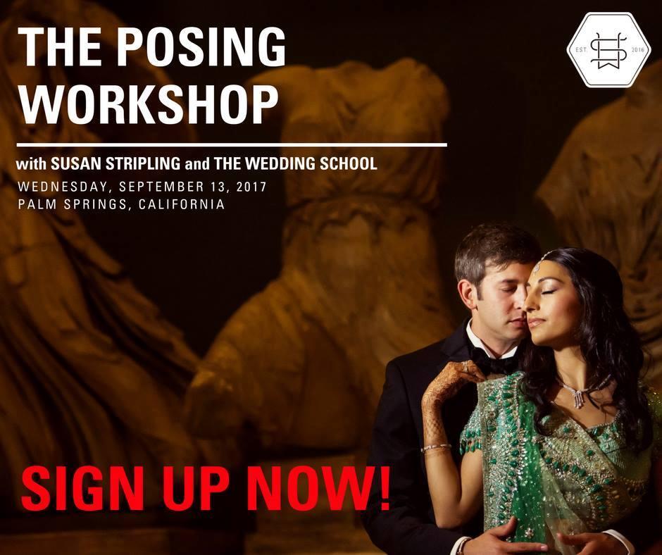 wedding photography posing workshop