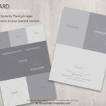 folio card Templates For Wedding Photographers