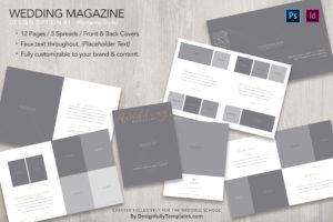 magazine Templates For Wedding Photographers