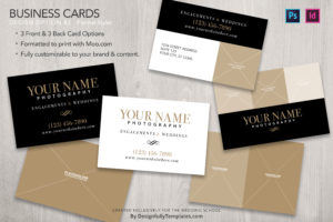 business card Templates For Wedding Photographers