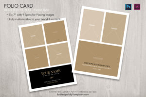 Templates For Wedding Photographers indesign