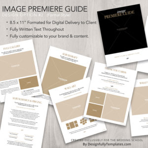 image premiere guide for wedding photographers
