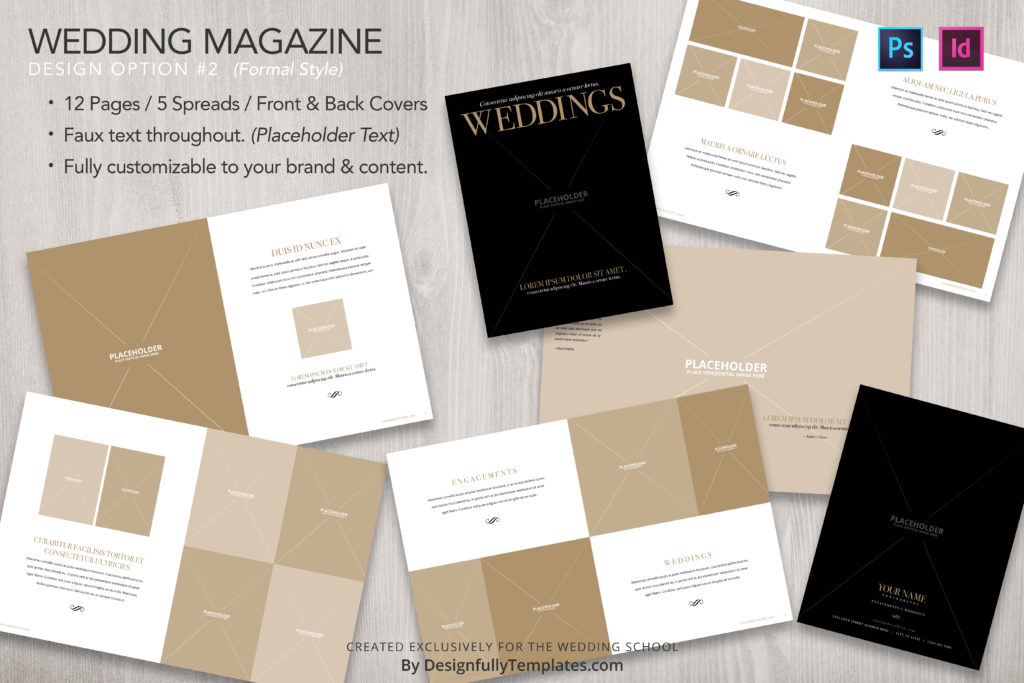 Marketing Magazine for wedding photographers by the wedding school